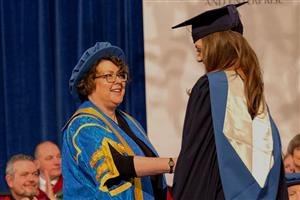 Bath Spa University's Winter Graduation Ceremony