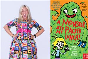 K2 A Monster Ate My Packed Lunch! With Pamela Butchart