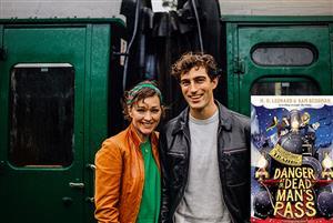 B8 Adventures on Trains M.G. Leonard & Sam Sedgman