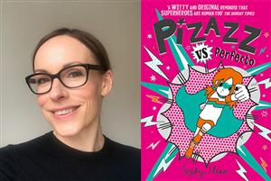 C6 Pizazz: Superheroes are human too! With Sophy Henn