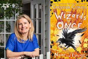 B3 Wizards and Dragons with Cressida Cowell