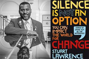 B16 Silence Is Not An Option with Stuart Lawrence