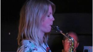Jazz at the Vaults – Saxophone soloist Sophie Stockham backed by the Jazz House Trio