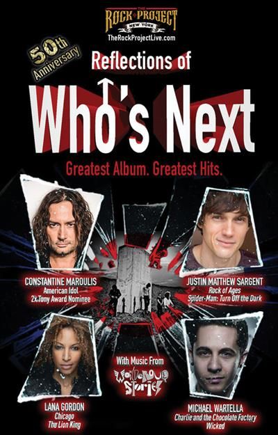 Reflections of Who's Next 50th Anniversary Album Celebration