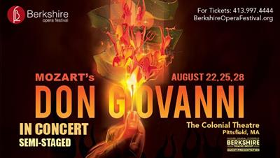 Berkshire Opera Festival presents Don Giovanni