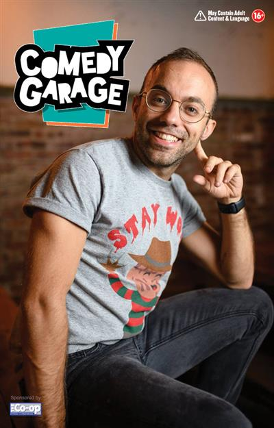 Comedy Garage: Gus Constantellis @ The Garage