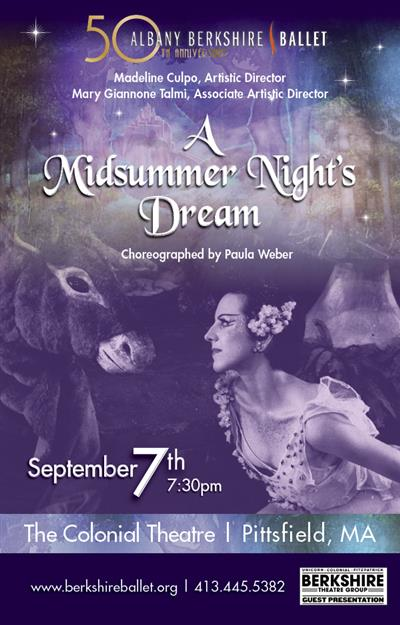 Albany Berkshire Ballet--A Midsummer Night's Dream