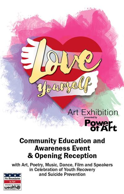 Love Yourself Art Exhibition Opening