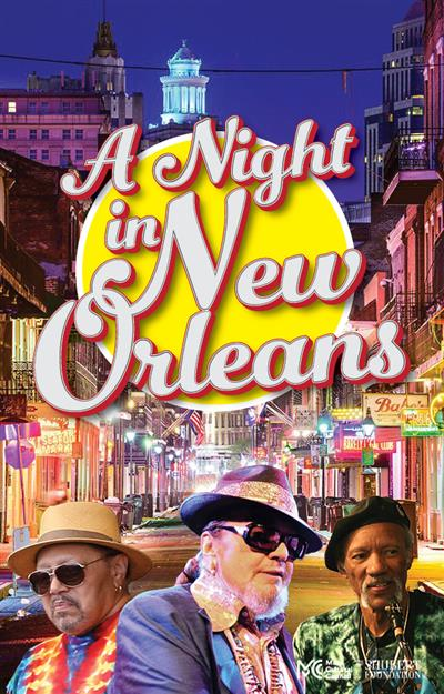 A Night in New Orleans Celebrating Dr. John and Charles & Art Neville