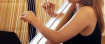Olivia Neuhauser, Harp, Rebecca Speller, Flute; Elena Sanchez, Viola