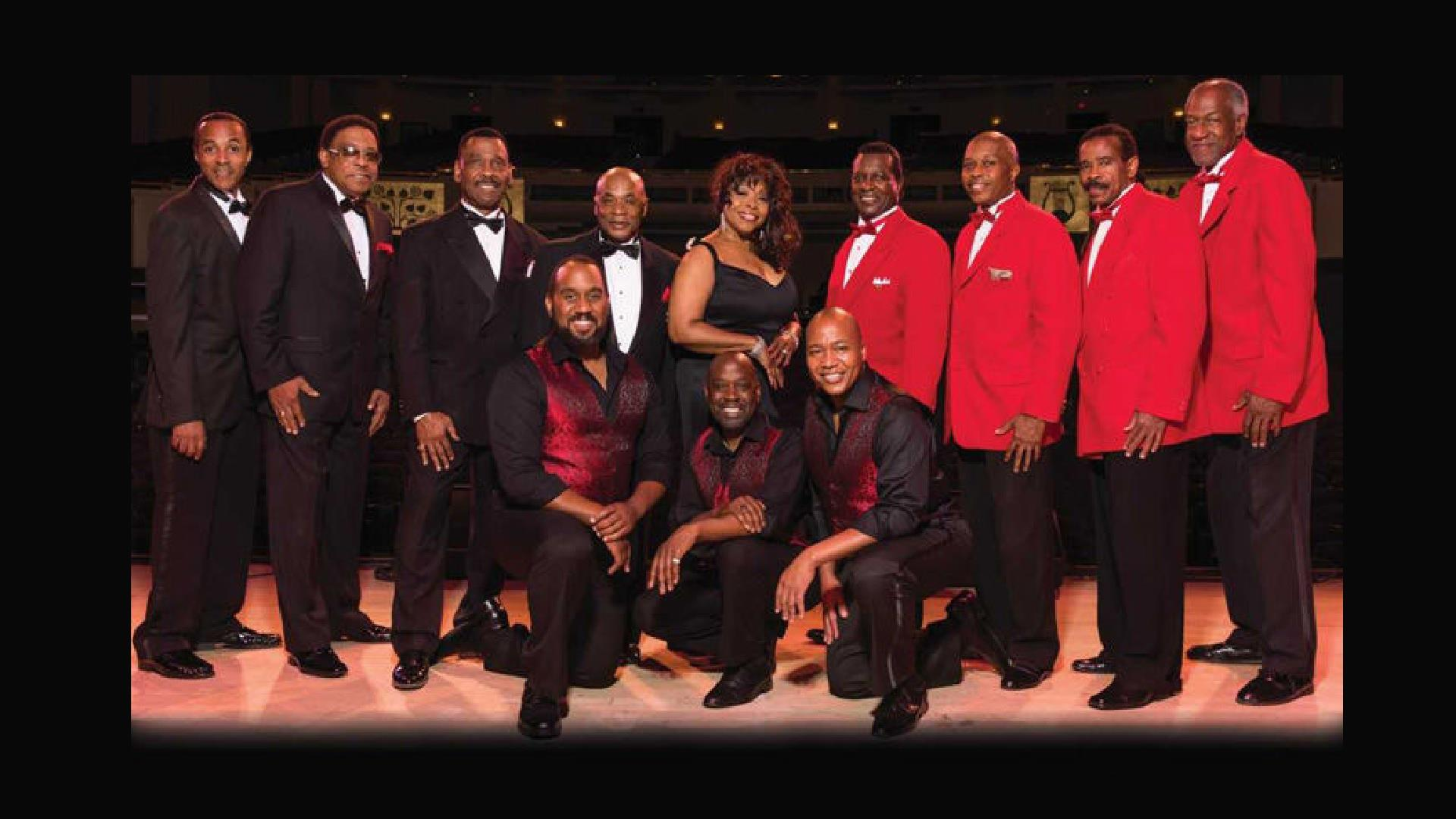 The Drifters, The Platters & Cornell Gunter's Coasters - Singer Creative