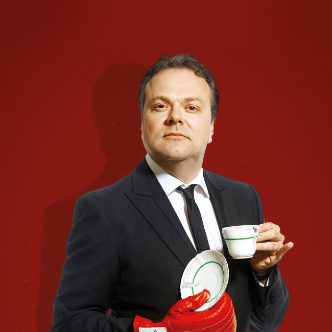 Hal Cruttenden – The Tough Luvvie Tour