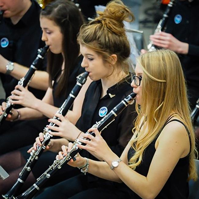 Brookfield Music Centre, Gloucestershire Youth Wind Orchestra & the Forest of Dean Area Wind Band