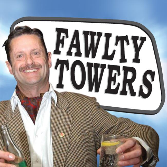 The Fawlty Towers Dinner Invitation