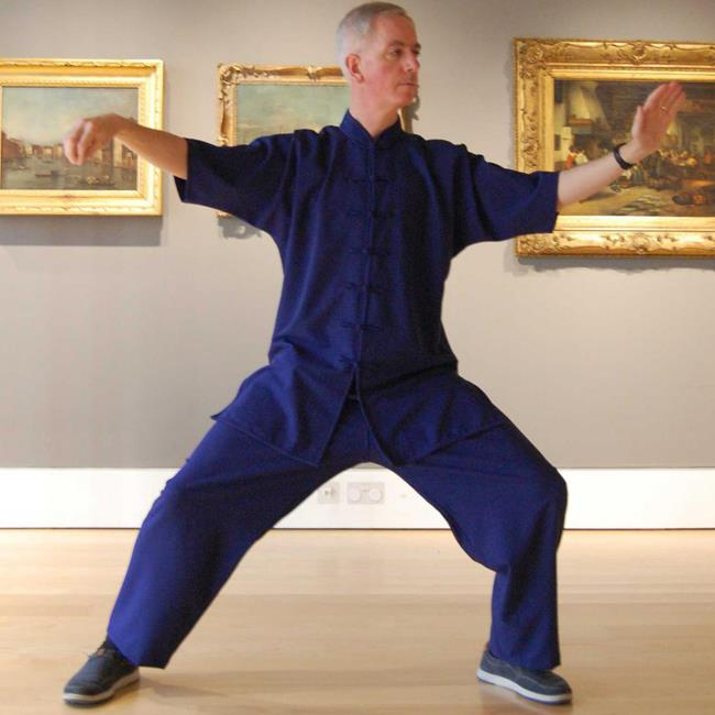 Tai-Chi in the Gallery