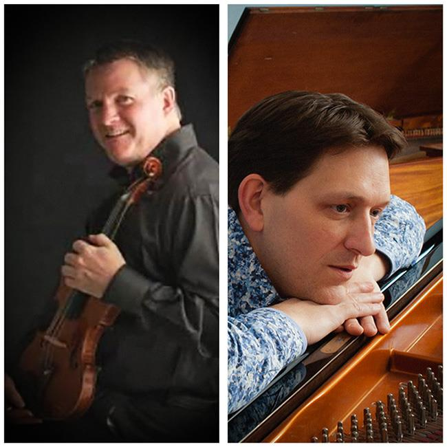 Peter Fisher (violin) & Peter Hewitt (piano) –  Lunchtime Recital 2020
