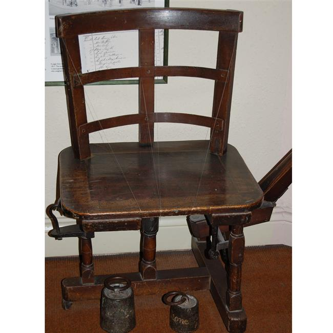 Object Talk: The William's Weighing Chair
