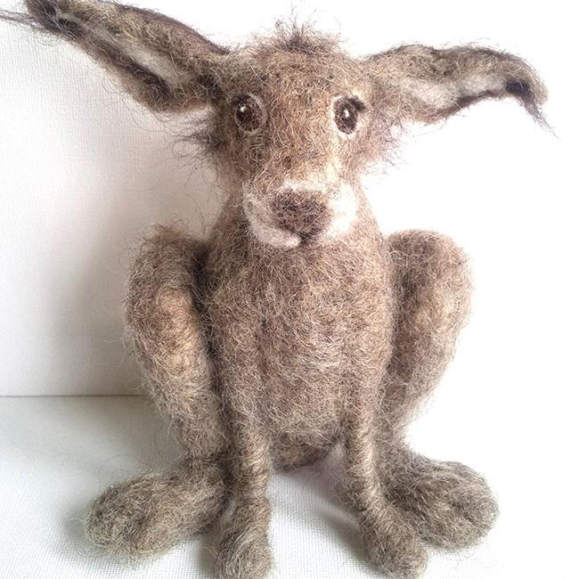 Needle Felting with Furzie: Felt a Hare