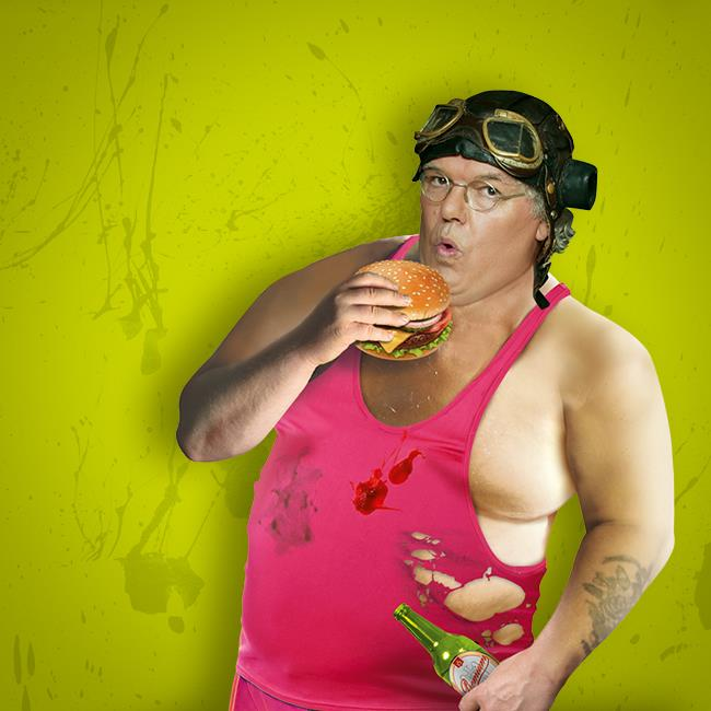 Roy 'Chubby' Brown – Don't Get Fit! Get Fat!