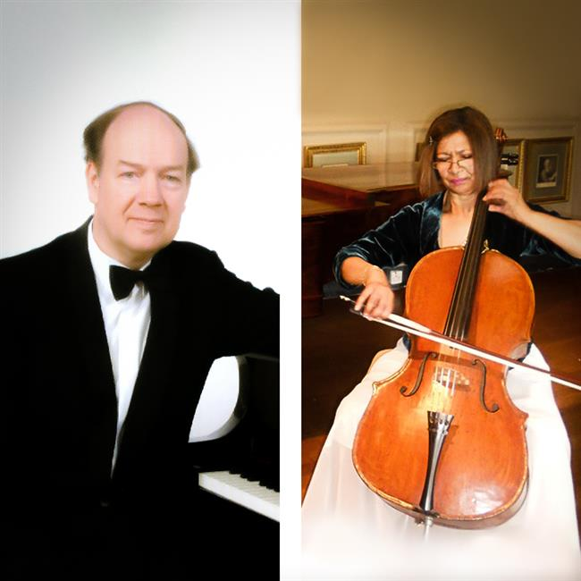Clare Deniz (cello) & Alan Brown (piano) – Lunchtime Recitals 2019