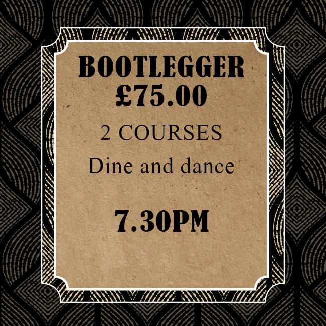 New Year's Eve – Bootlegger