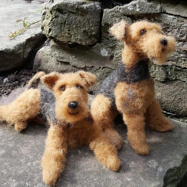 Needle Felting with Furzie: Felt a Dog