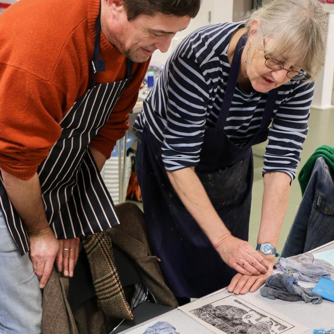 Printmaking: 1 Day Workshop with Beth Jenkins