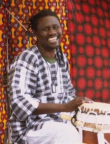 Sabar Drumming Workshop with Modou Diouf [2pm]*