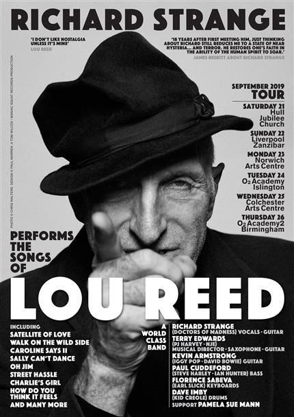 Richard Strange performs the songs of Lou Reed *