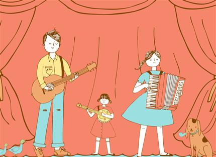 Megson Presents: Family Folk Show with Megson!