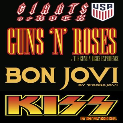 The Guns 'N Roses Experience + Wrong Jovi + Hotter Than Hell (Kiss Tribute) *