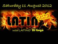 LATIN FIESTA WITH LATINO DJ GOYO