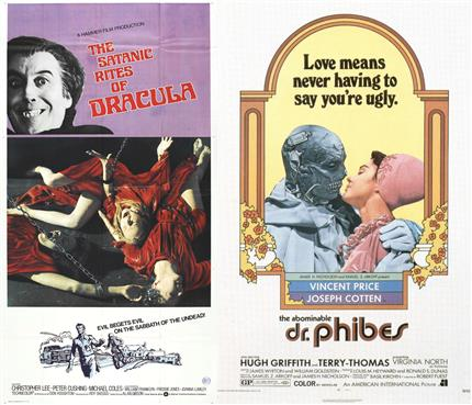 Classic Horror Nights Double Bill! Satanic Rites of Dracula + The Abominable Dr Phibes
