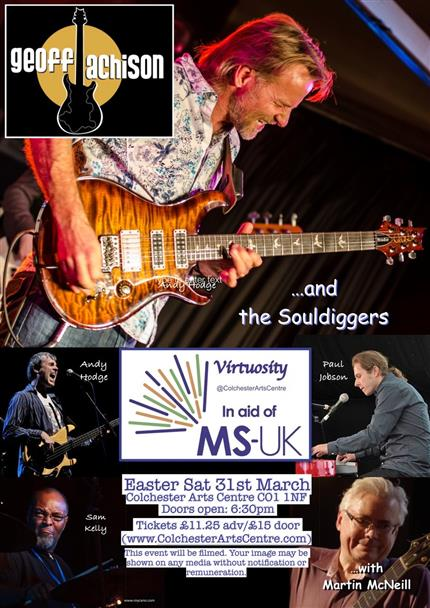 Geoff Achison & The Souldiggers + Tim Aves & Wolfpack + Martin McNeill *
