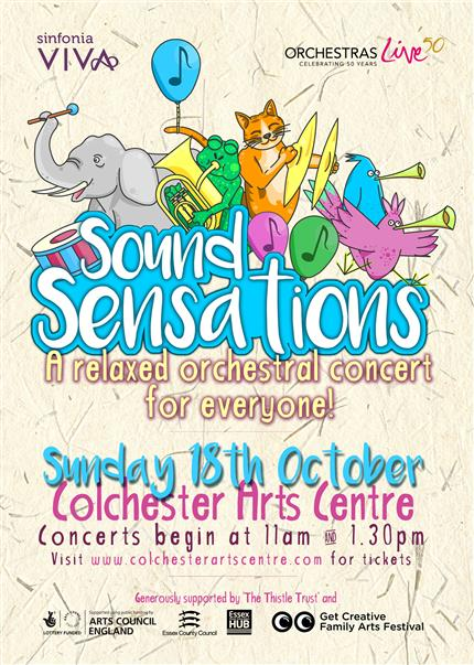 Sound Sensations: A Relaxed Orchestral Concert (Doors open 1.15pm) *