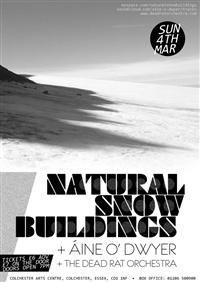 NATURAL SNOW BUILDINGS + ÁINE O'DWYER + THE DEAD RAT ORCHESTRA