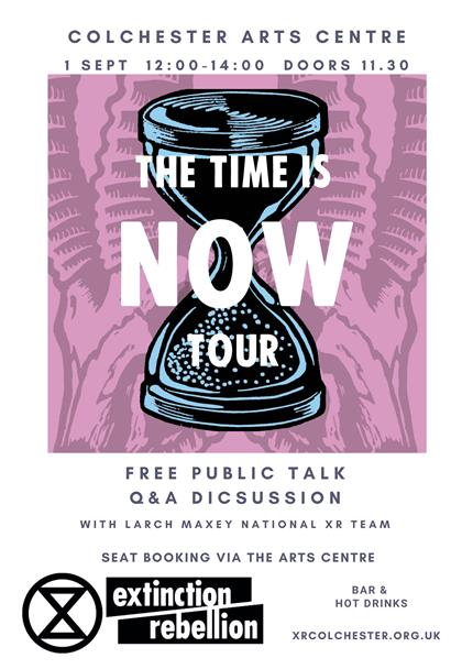 Extinction Rebellion:The Time Is Now - Free Public Talk & Discussion