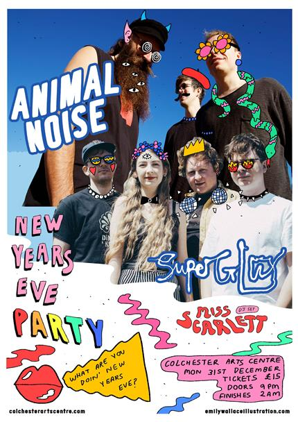 Animal Noise + Superglu New Years Eve Party *