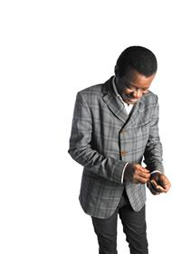 STEPHEN K AMOS: LAUGHTER IS MY AGENDA*