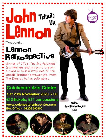 John Lennon Tribute UK presents Lennon Retrospective *