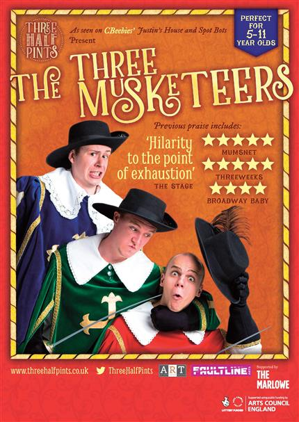 Three Half Pints presents The Three Musketeers (Relaxed Performance)