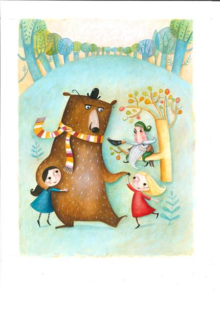 Theatre of Widdershins: Snow White, Rose Red, Bear Brown 1.30pm