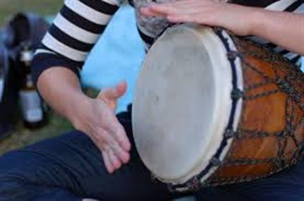 Free Djembe Drumming Workshops all day