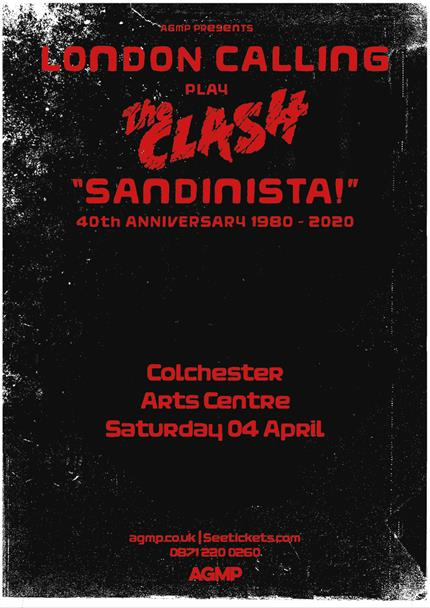 London Calling: Sandinista! 40th Anniversary *