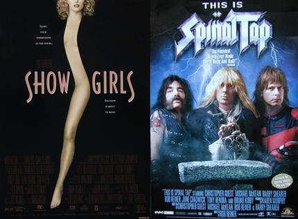 The Good / Bad Film Night Double Bill: Showgirls & This Is Spinal Tap