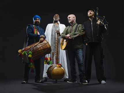 Afro Celt Sound System with guests The Dhol Foundation *