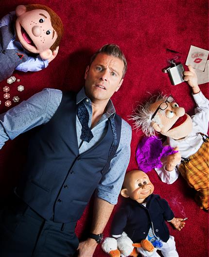 Paul Zerdin: All Mouth *