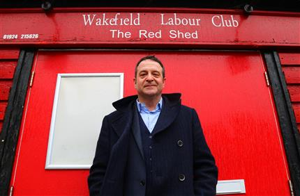 Mark Thomas: The Red Shed (Doors 9pm) *