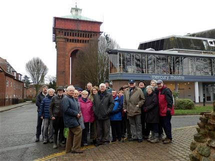 Colchester Heritage Tour with High Steward Sir Bob Russell - Tour A *