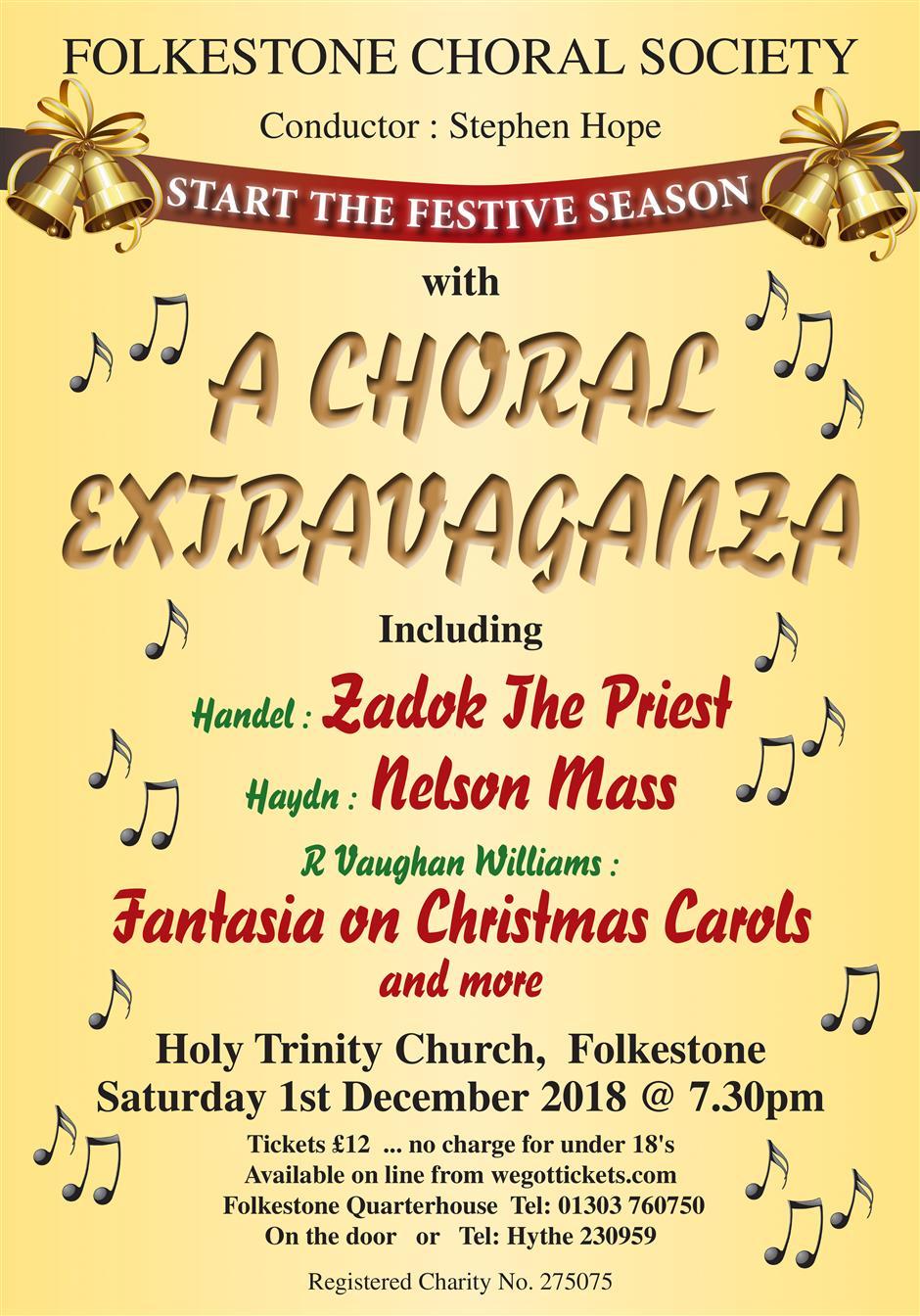 Folkestone Choral Society Concert: